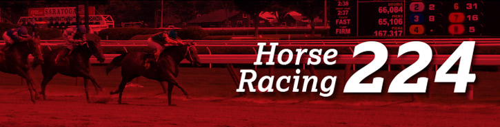 Horse Racing 224: Horse Tips & Stories By John Furgele Banner