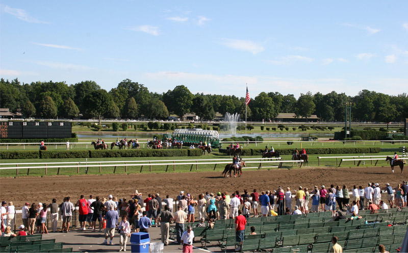 view of saratoga race course