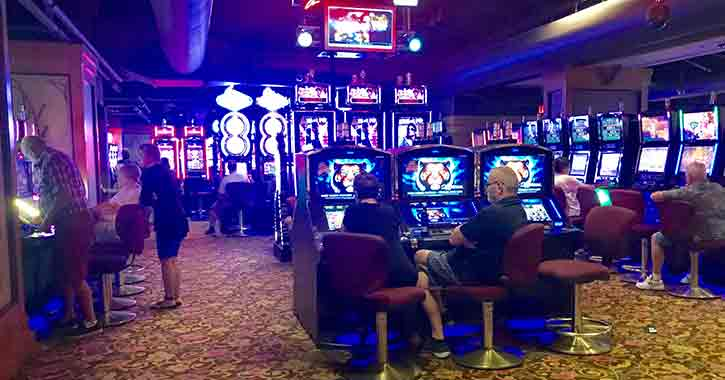 video gaming at Saratoga Casino-Hotel