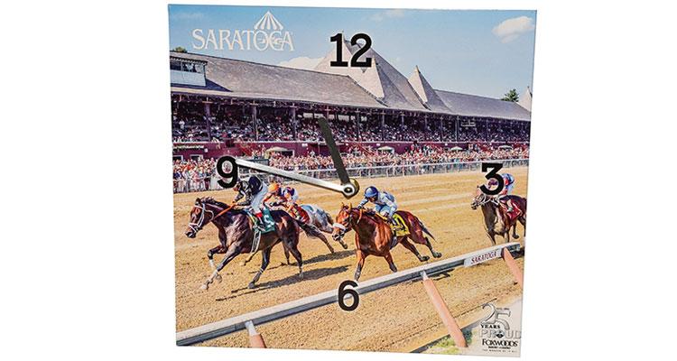 saratoga race course clock