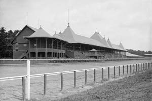 grandstand at saratoga race course
