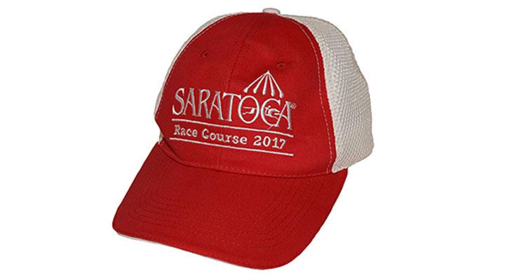 saratoga race course hat