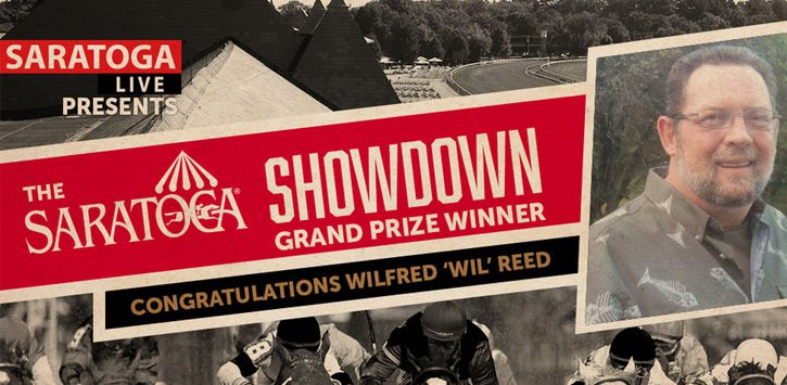 winner of the saratoga showdown sweepstakes image