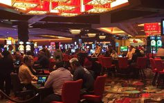 the gaming floor at rivers casino
