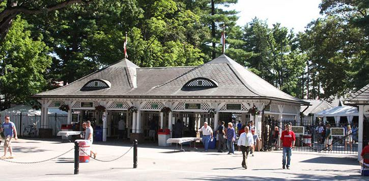 Saratoga Race Course Entrance