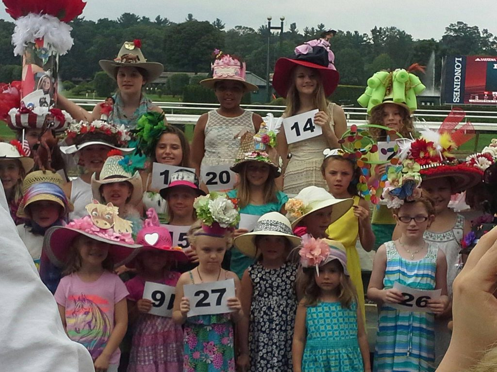 Hats, Hats & More Hats! Opening Weekend 2018 At Saratoga