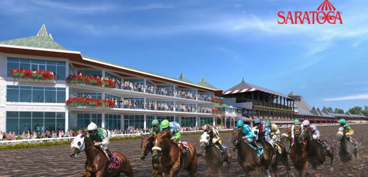 racetrack artist rendition
